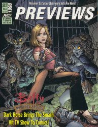 Diamond Comics Distribution's Previews Issue # 118