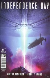 Titan Comics's Independence Day Issue # 2b