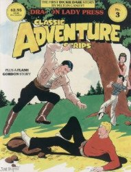 Dragon Lady Press's Classic Adventure Strips Issue # 3