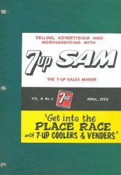 The Seven-Up Company's 7-Up Sam Issue # 4