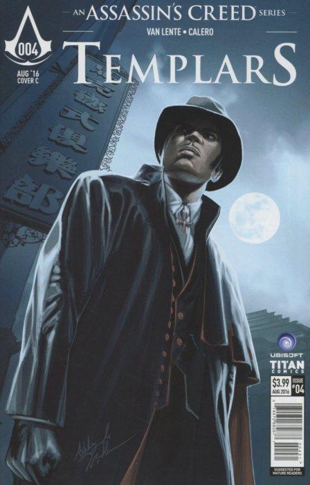 Assassin S Creed Templars Issue 4c Titan Comics