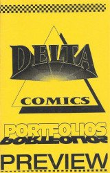 Delta Comics Publishing's Portfolios Issue # 1preview ashcan