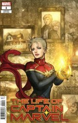 Marvel Comics's Life of Captain Marvel Issue # 1e