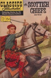 Gilberton Publications's Classics Illustrated #67: The Scottish Chiefs Issue # 7
