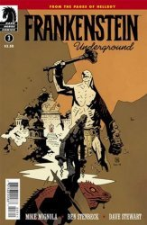 Dark Horse's Frankenstein Underground Issue # 3