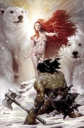 Ablaze Media's Cimmerian: Frost-Giant's Daughter Issue # 1j