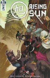 IDW Publishing's Rising Sun Issue # 2