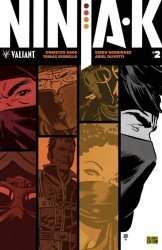 Valiant Entertainment's Ninja-K Issue # 2g