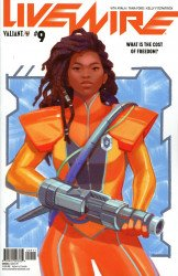 Valiant Entertainment's Livewire Issue # 9