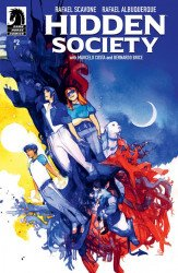 Dark Horse Comics's Hidden Society Issue # 2b