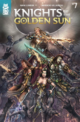 Mad Cave Studios's Knights of the Golden Sun Issue # 7