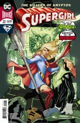 DC Comics's Supergirl Issue # 22
