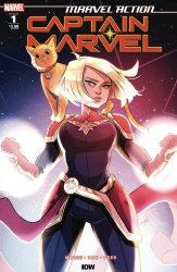 IDW Publishing's Marvel Action: Captain Marvel Issue # 1