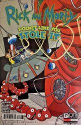 Oni Press's Rick and Morty: Pocket Like You Stole It Issue # 1nerd block