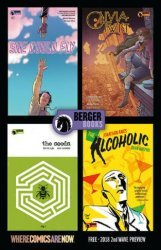 Dark Horse Comics's Berger Books Sampler Ashcan Issue # 2