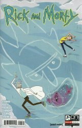 Oni Press's Rick and Morty Issue # 47b