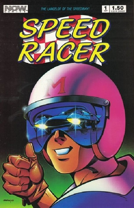 Very Speed Racer 19 (Now Comics) - ComicBookRealm.com AC83
