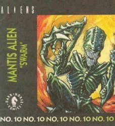 Dark Horse Comics's Aliens: Action Figure Mini-Comics Issue # 10