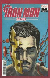 Marvel Comics's Iron Man 2020 Issue # 2b