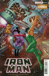 Marvel Comics's Iron Man Issue # 8b