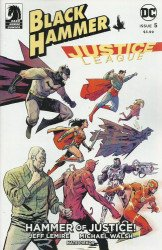 Dark Horse Comics's Black Hammer / Justice League: Hammer of Justice Issue # 5