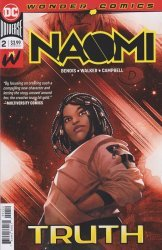 DC Comics's Naomi Issue # 2 - final print