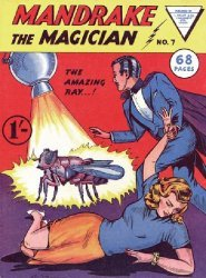 L. Miller & Son's Mandrake the Magician Issue # 7