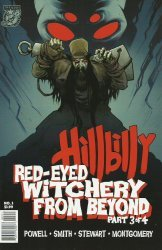 Albatross Exploding Funny Book's Hillbilly Red-Eyed Witchery From Beyond Issue # 3