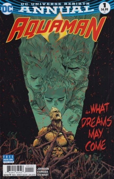 Aquaman Rebirth  #1  NM Never Read 1st Print