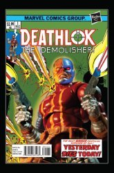 Marvel's Deathlok Issue # 1g