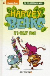 Papercutz's Harvey Beaks Hard Cover # 2