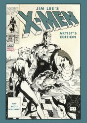 IDW Publishing's Jim Lee's X-Men: Artist's Edition Hard Cover # 1