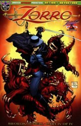 American Mythology's Zorro: Swords of Hell Issue # 4