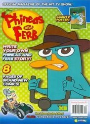 Disney Worldwide Publishing's Phineas and Ferb Issue # 26