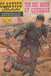 Gilberton Publications's Classics Illustrated #98: Red Badge of Courage Issue # 8