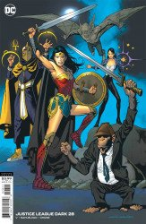 DC Comics's Justice League Dark Issue # 28b