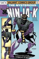 Valiant Entertainment's Ninja-K Issue # 3larrys