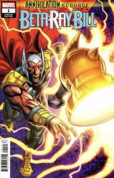 Marvel Comics's Annihilation Scourge: Beta Ray Bill Issue # 1b