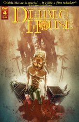 IDW Publishing's Diablo House Issue # 4b