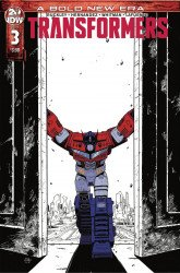 IDW Publishing's Transformers Issue # 3 - 2nd print
