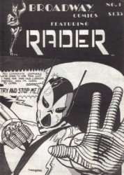 Broadway Comics's Broadway Comics featuring Rader Issue # 1