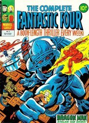 Marvel UK's Complete Fantastic Four Issue # 3