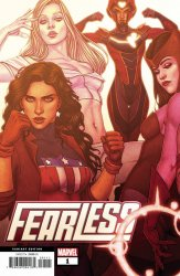 Marvel Comics's Fearless Issue # 1b