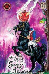 Blood Scream Comics's Legend of Sleepy Hollow Issue # 1