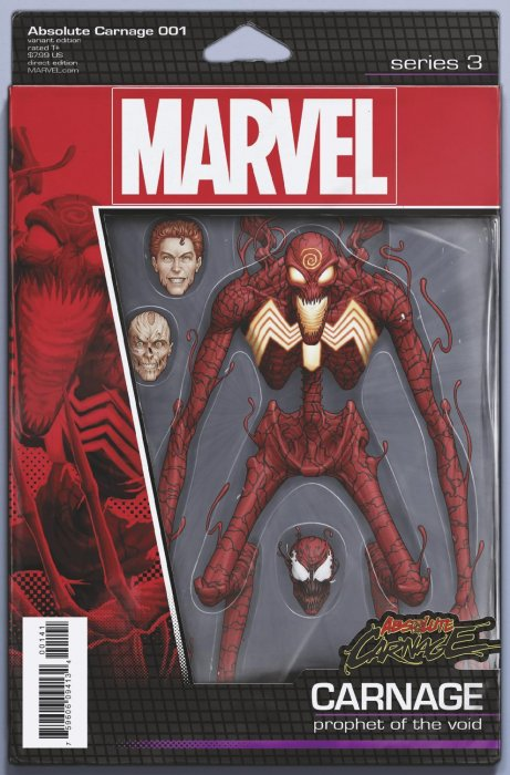 ABSOLUTE CARNAGE #1 HOTZ HULK CONNECTING VARIANT FREE COMIC BOOK DAY SPIDER-MAN