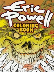 Albatross Exploding Funny Book's Eric Powell Coloring Book Soft Cover # 1