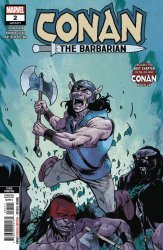 Marvel Comics's Conan the Barbarian Issue # 2 - 3rd print