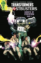 IDW Publishing's Transformers / Ghostbusters Issue # 1ri-c