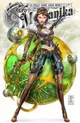 Benitez Productions's Lady Mechanika: La Belle Dame Sans Merci Issue # 1h