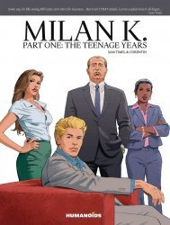 Humanoids Publishing's Milan K Soft Cover # 1